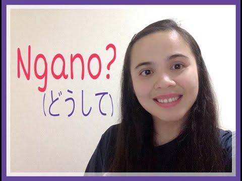 ビサヤ語20:NGANO? (MAYA)