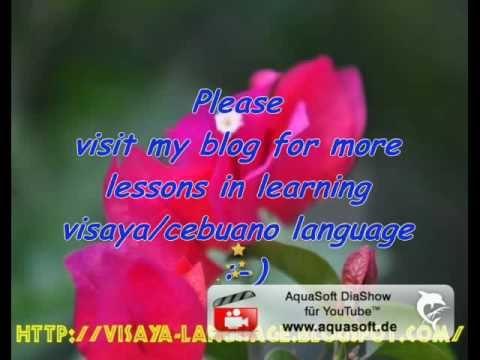 セブアノ語、ビサヤ語による数詞パート1