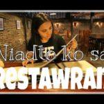 ビサヤ語講座2:私はレストランに行きました!Niadto ko sa restawran! (MAYA)